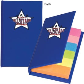 Sticky Flag Book Imprinted with Your Logo
