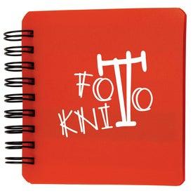 Monogrammed Sticky Memo Notepad