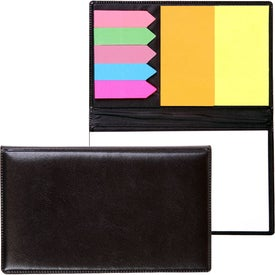Basic Sticky Flag and Note Memo Case (200 Sheets)