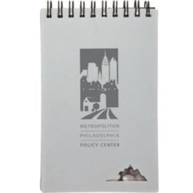 Stone Paper Jotter Printed with Your Logo