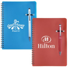 Stylus Pen Notebook Combo for Customization