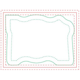 Monogrammed Table Setting Adhesive Notepad