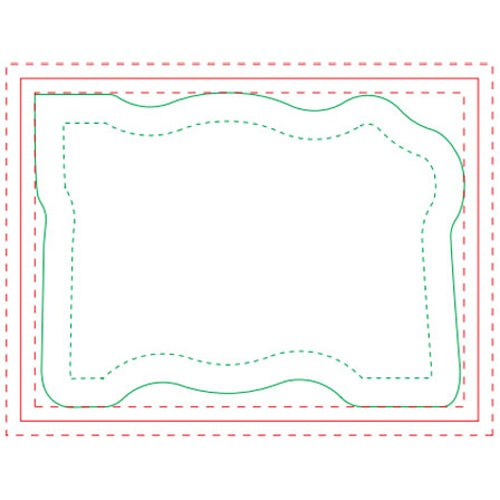 Table Setting Adhesive Notepad