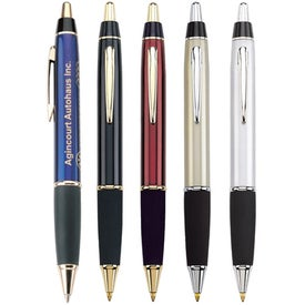 Taurus Ballpoint Pen with Gold or Chrome Trim