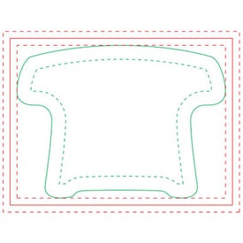 Telephone Adhesive Sticky Note Pads (Medium, 50 Sheets)