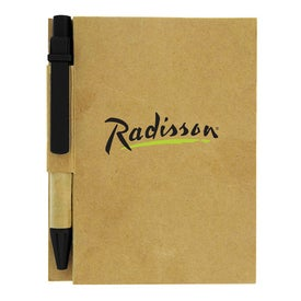 The Aria Recycled Notebook with Your Logo