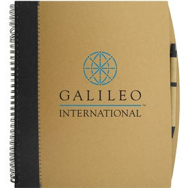The Carlton Notebook Printed with Your Logo