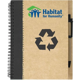 The Hanover Notebook Imprinted with Your Logo
