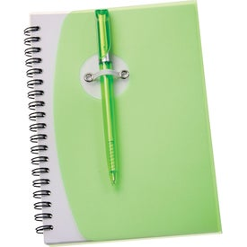 The Sun Spiral Notebook Printed with Your Logo