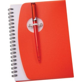 The Sun Spiral Notebook with Your Logo