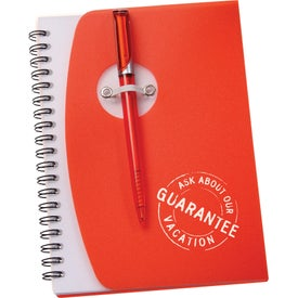 Imprinted The Sun Spiral Notebook