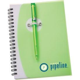 Monogrammed The Sun Spiral Notebook