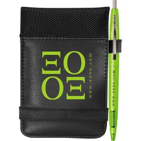 Think Tank Jotter w/BIC Click Stick Mini Pen for Your Company