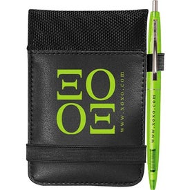 Think Tank Jotter w/BIC Click Stick Mini Pen for Your Church