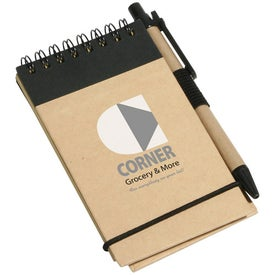 Think Green Recycled Notepad And Pen for Your Church