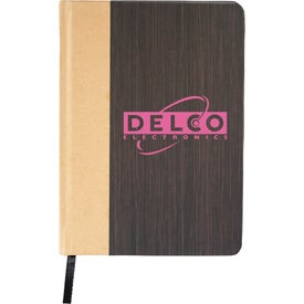 Timbers Case Bound Notebook Printed with Your Logo