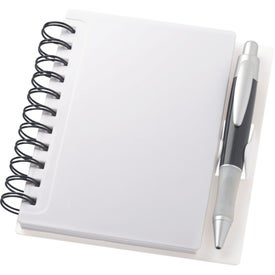 The Times Spiral Notebook with Your Slogan