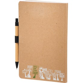 Company Trash Talking Recycled Bound JournalBook