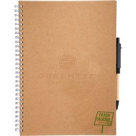 Customized Trash Talking Recycled Spiral JournalBook