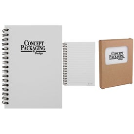 Imprinted Tree-Saver Stone Notebook
