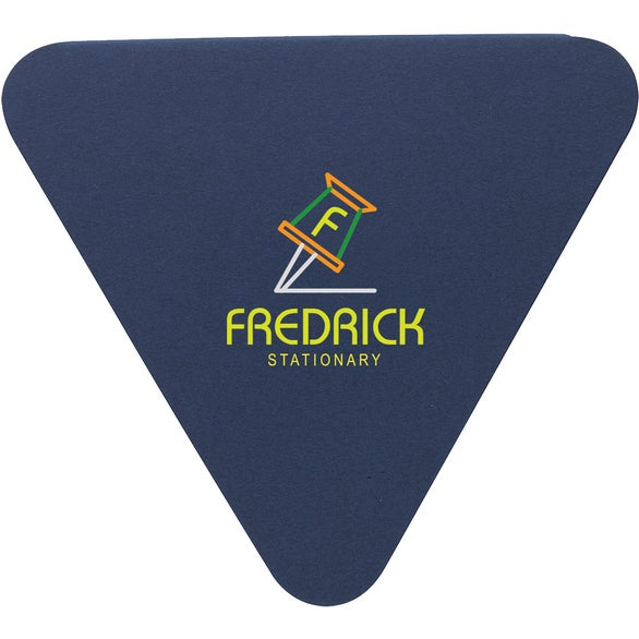 Navy Triangle Shaped Sticky Notes Pad