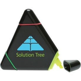 Promotional Triangle-Shaped Highlighter