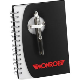 The Tribune Spiral Notebook with Your Slogan