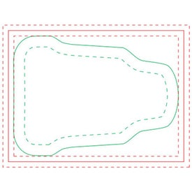 Tube BIC Adhesive Sticky Note Pads (Medium, 100 Sheets)