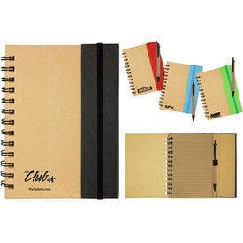 Two Tone Eco Notebook for Your Organization