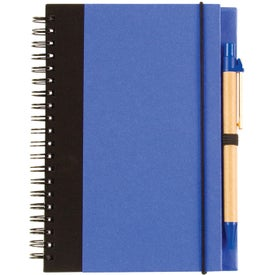 Advertising Two Tone Recycle Notebook