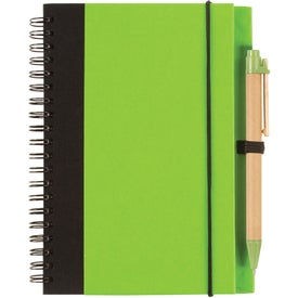 Two Tone Recycle Notebook for Marketing