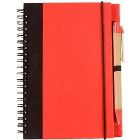 Two Tone Recycle Notebook for your School