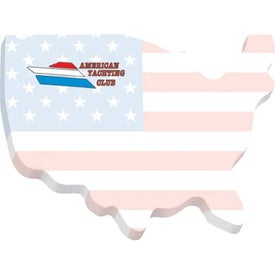 """USA BIC Ecolutions Adhesive Die Cut Notepad (4"""" x 3"""", 100 Sheets)"""