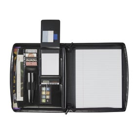 Branded Windsor Reflections Zippered Padfolio