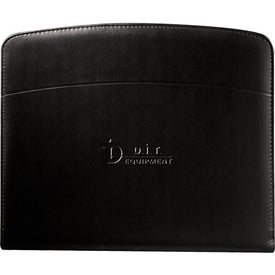 Windsor Reflections Zippered Padfolio with Your Logo