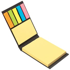 Custom World Design Sticky Notes Book