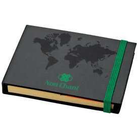 Branded World Design Sticky Notes Book