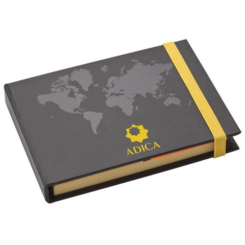 Custom Notepads Memo Pads: World Design Sticky Notes Book