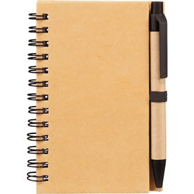 Write And Go Mini Notebook and Pen with Your Logo