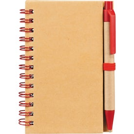 Branded Write And Go Mini Notebook and Pen