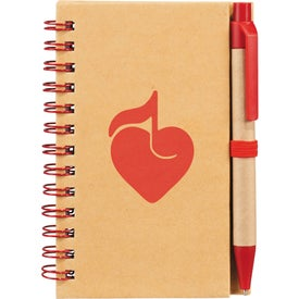 Personalized Write And Go Mini Notebook and Pen