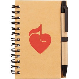 Write And Go Mini Notebook and Pen for Your Organization