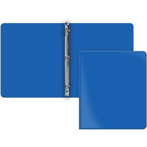 Blue Poly Binder