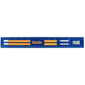 BioGreen Pencil and Ruler Set Printed with Your Logo