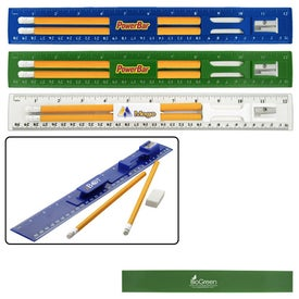 Promotional BioGreen Pencil and Ruler Set