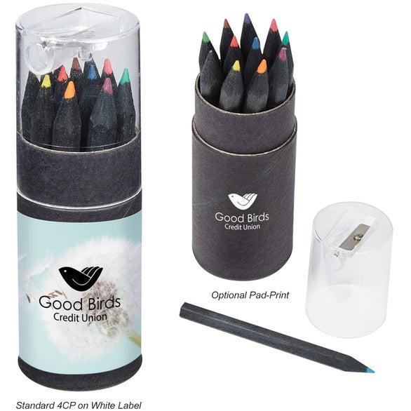 See Item Blackwood 12 Piece Colored Pencil Set