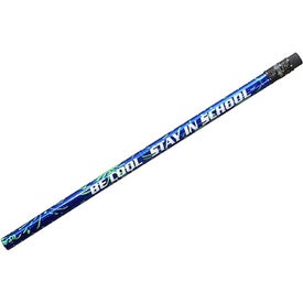 Foil Sparkler Pencil (Blue)
