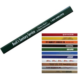 "Carpenter Pencil (0.3125"" x 7"" x 0.5625"")"