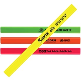 Fluorescent Finish Carpenter Pencil