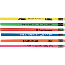 Fluorescent Wood Pencil